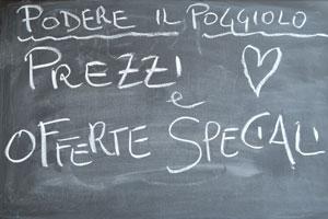 Prezzi ed offerte agriturismo Toscana